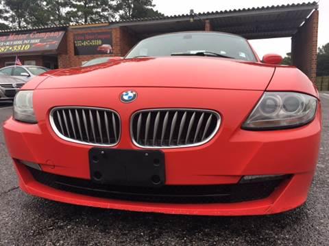 2006 BMW Z4 for sale in Portsmouth, VA