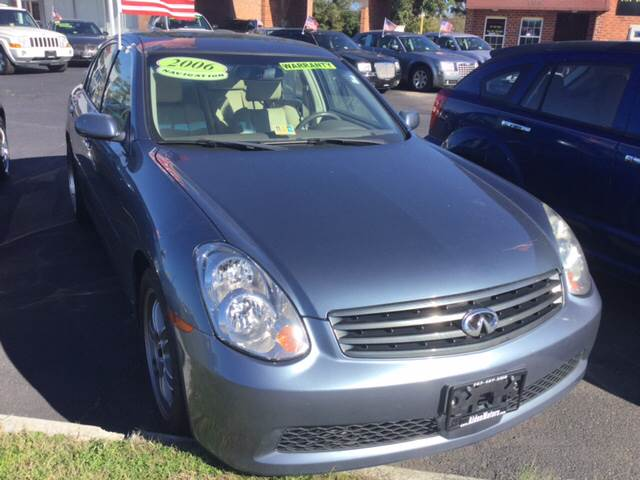 2006 Infiniti G35 for sale at Aiden Motor Company in Portsmouth VA