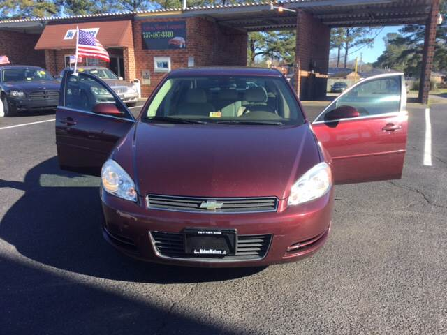 2007 Chevrolet Impala for sale at Aiden Motor Company in Portsmouth VA