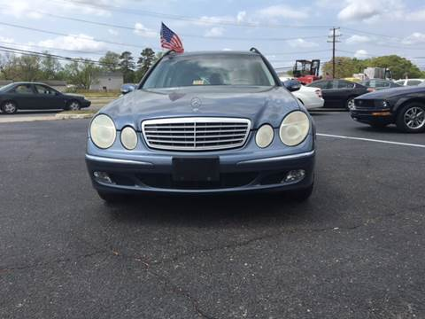 2004 Mercedes-Benz E-Class for sale at Aiden Motor Company in Portsmouth VA