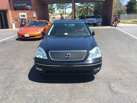 2003 Lexus LS 430 for sale at Aiden Motor Company in Portsmouth VA