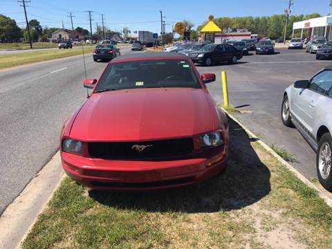 2006 Ford Mustang for sale at Aiden Motor Company in Portsmouth VA