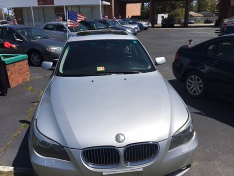 2006 BMW 5 Series for sale at Aiden Motor Company in Portsmouth VA