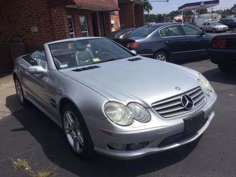 2006 Mercedes-Benz SL-Class for sale at Aiden Motor Company in Portsmouth VA