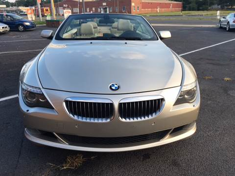 2008 BMW 6 Series for sale at Aiden Motor Company in Portsmouth VA