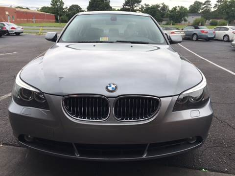 2007 BMW 5 Series for sale at Aiden Motor Company in Portsmouth VA