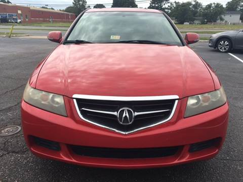 2004 Acura TSX for sale at Aiden Motor Company in Portsmouth VA