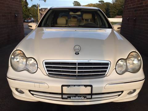 2006 Mercedes-Benz C-Class for sale at Aiden Motor Company in Portsmouth VA