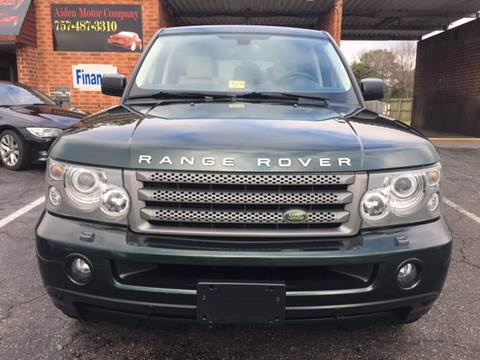 2009 Land Rover Range Rover Sport for sale in Portsmouth, VA