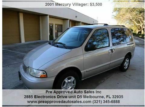 2001 Mercury Villager