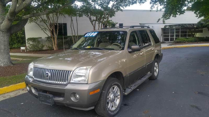 2003 Mercury Mountaineer AWD 4dr SUV - Richmond VA