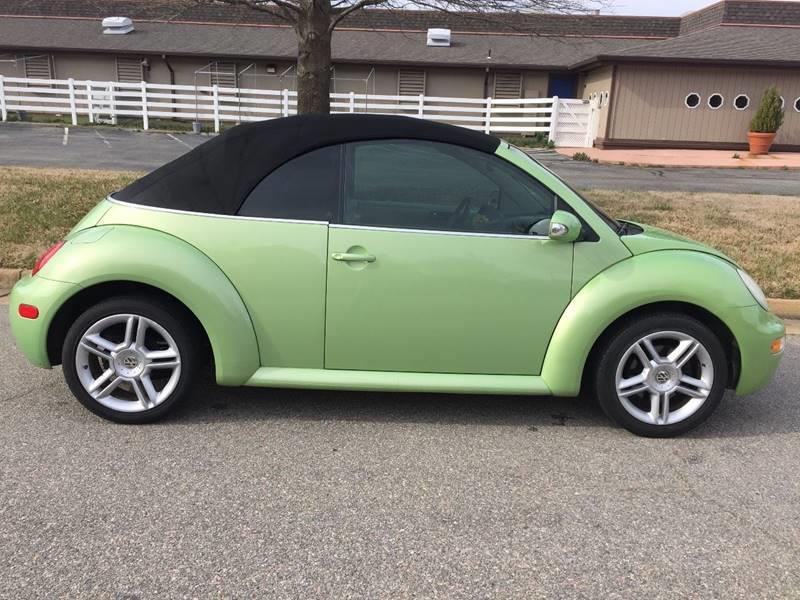 2004 Volkswagen New Beetle 2dr GLS 1.8T Turbo Convertible - Richmond VA