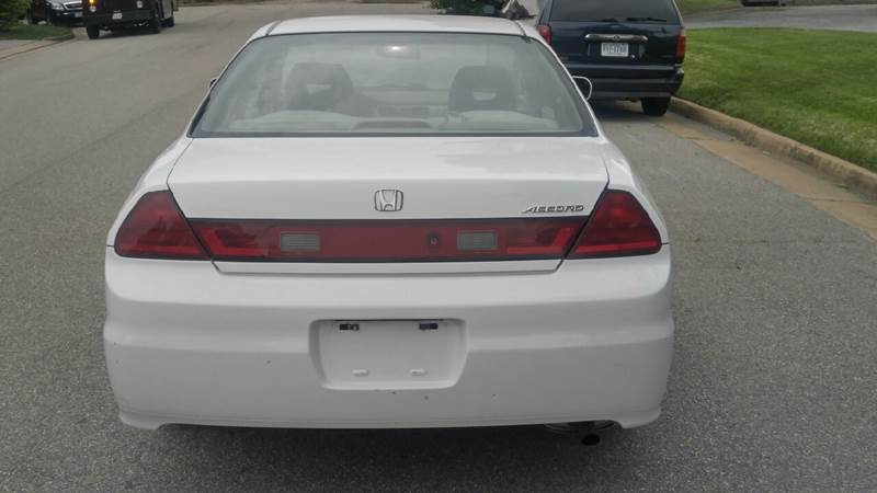2001 Honda Accord EX 2dr Coupe - Richmond VA