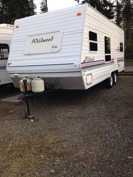 2001 Wildwood Lite for sale at Quality RV LLC in Enumclaw WA