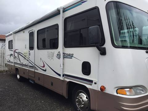 1999 Allegro class A Triton V10 for sale at Quality RV LLC in Enumclaw WA