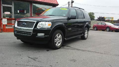 2007 Ford Explorer for sale at Mulligan's Auto Exchange LLC in Paxinos PA