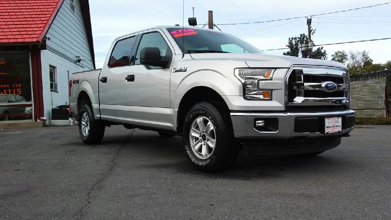 2017 Ford F-150 for sale at Mulligan's Auto Exchange LLC in Paxinos PA
