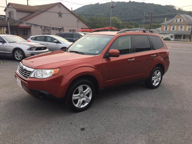 2010 Subaru Forester for sale at Mulligan's Auto Exchange LLC in Paxinos PA
