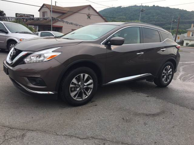 2016 Nissan Murano for sale at Mulligan's Auto Exchange LLC in Paxinos PA