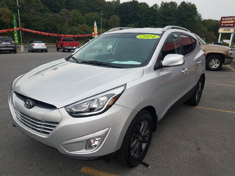 2014 Hyundai Tucson for sale at Mulligan's Auto Exchange LLC in Paxinos PA