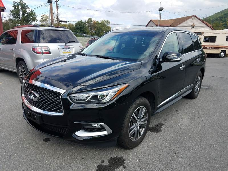 2016 Infiniti QX60 for sale at Mulligan's Auto Exchange LLC in Paxinos PA
