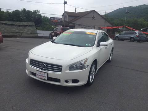 2009 Nissan Maxima for sale at Mulligan's Auto Exchange LLC in Paxinos PA