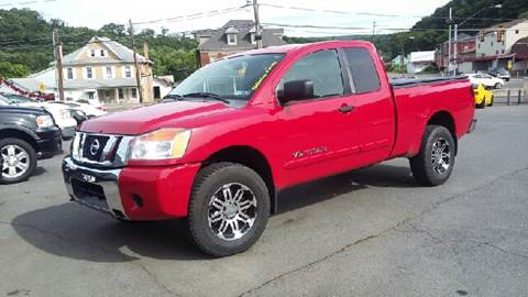 2009 Nissan Titan for sale at Mulligan's Auto Exchange LLC in Paxinos PA