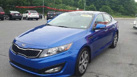 2013 Kia Optima for sale at Mulligan's Auto Exchange LLC in Paxinos PA
