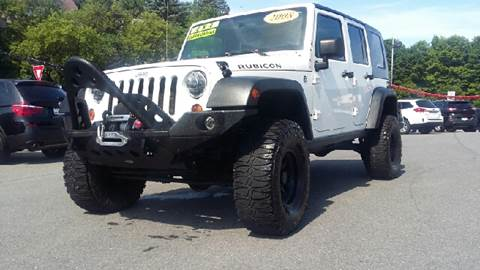 2008 Jeep Wrangler Unlimited for sale at Mulligan's Auto Exchange LLC in Paxinos PA