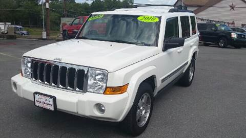 2010 Jeep Commander for sale at Mulligan's Auto Exchange LLC in Paxinos PA
