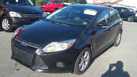 2013 Ford Focus for sale at Mulligan's Auto Exchange LLC in Paxinos PA