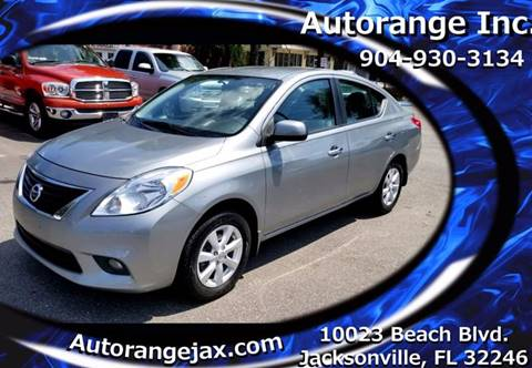 2012 Nissan Versa for sale in Jacksonville, FL