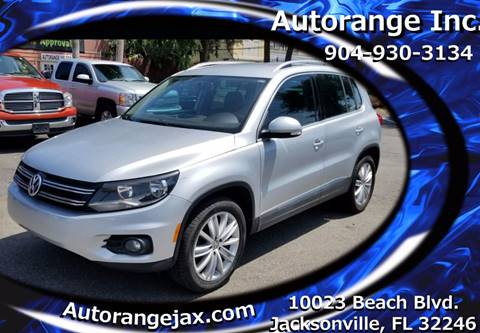 2013 Volkswagen Tiguan for sale in Jacksonville, FL