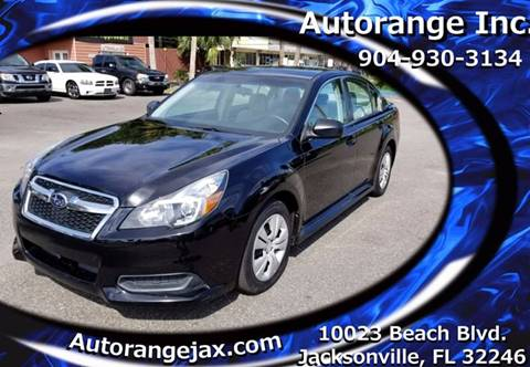2013 Subaru Legacy for sale in Jacksonville, FL