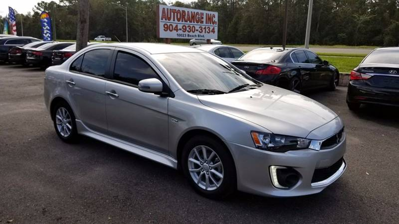 949444788 2016 mitsubishi lancer es 4dr sedan cvt in jacksonville fl autorange 2017 Lancer at reclaimingppi.co