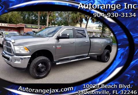 2010 Dodge Ram Pickup 3500 for sale in Jacksonville, FL