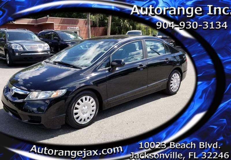 2011 Honda Civic LX 4dr Sedan 5A   Jacksonville FL