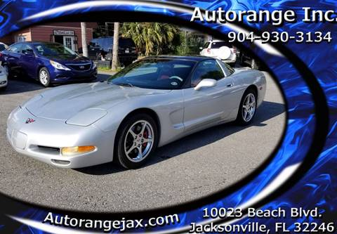 2000 Chevrolet Corvette for sale in Jacksonville, FL