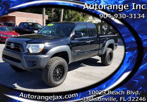 2012 Toyota Tacoma for sale in Jacksonville, FL