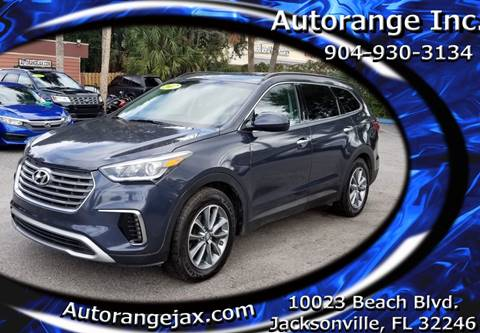 2017 Hyundai Santa Fe for sale in Jacksonville, FL