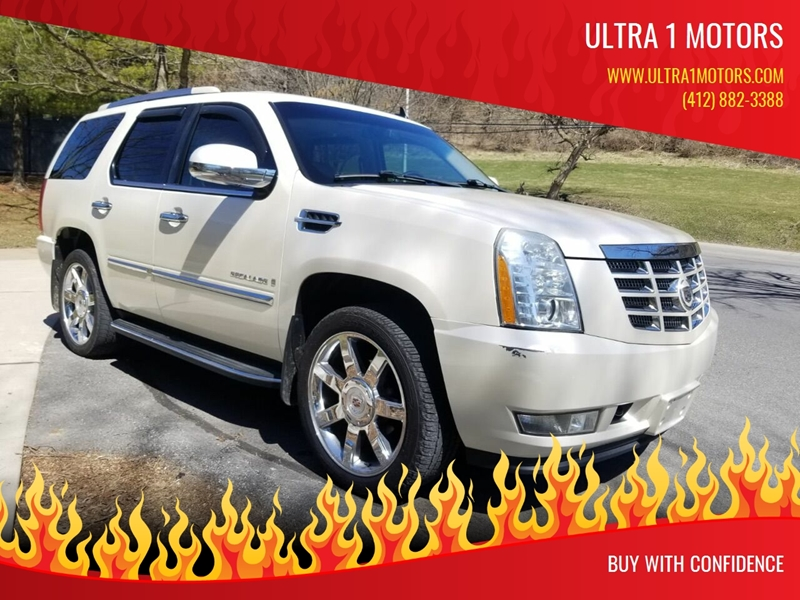 d37e75b3b1332c 2009 Cadillac Escalade AWD 4dr SUV w V8 Ultra Luxury Collection -  Pittsburgh PA