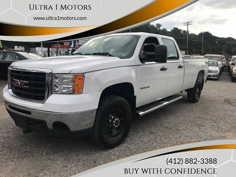 2010 GMC Sierra 2500HD for sale in Pittsburgh, PA