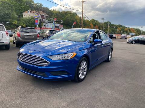 2017 Ford Fusion for sale at Ultra 1 Motors in Pittsburgh PA