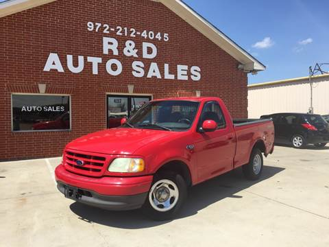 2002 Ford F-150 for sale in Garland, TX
