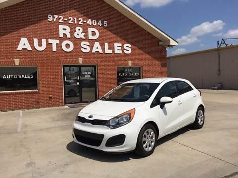 2012 Kia Rio 5-Door for sale in Garland, TX