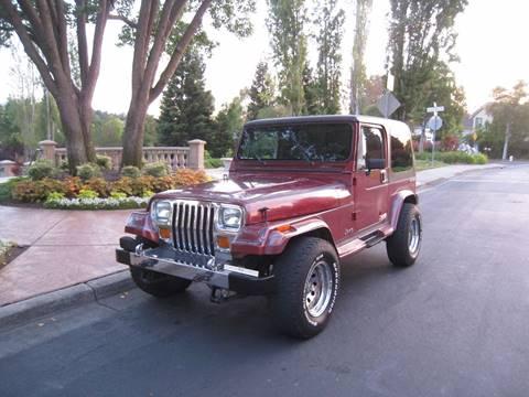 1987 Jeep Wrangler for sale in San Ramon, CA