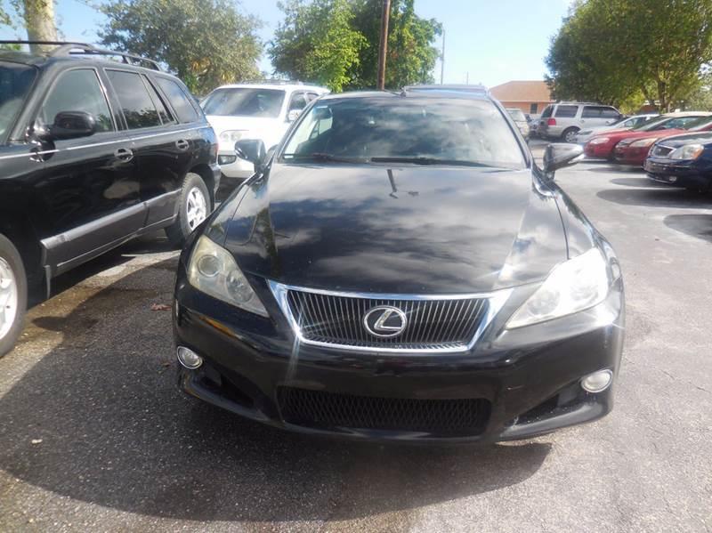 2010 Lexus IS 350C 2dr Convertible   West Palm Beach FL