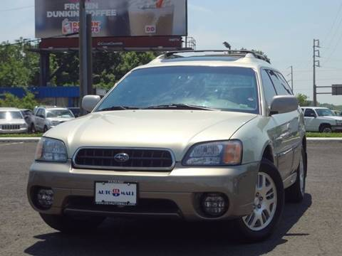 2004 Subaru Outback for sale at US 1 Auto Mall Inc in Trevose PA