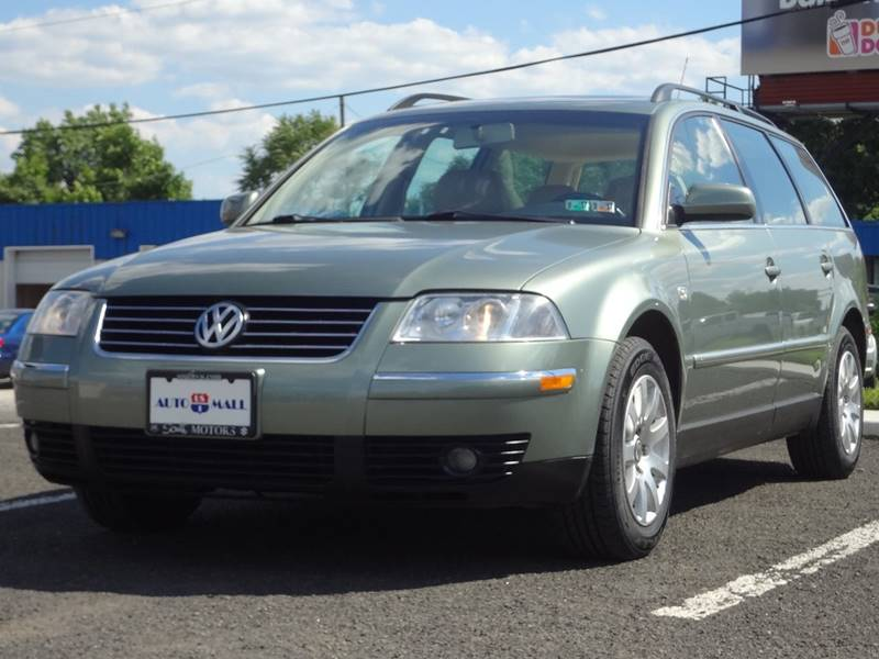 2001 Volkswagen Passat for sale at US 1 Auto Mall Inc in Trevose PA