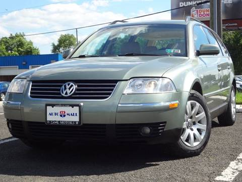 2001 Volkswagen Passat for sale at US 1 Auto Mall Inc in Trevose PA